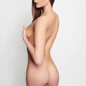 seitliche Brust